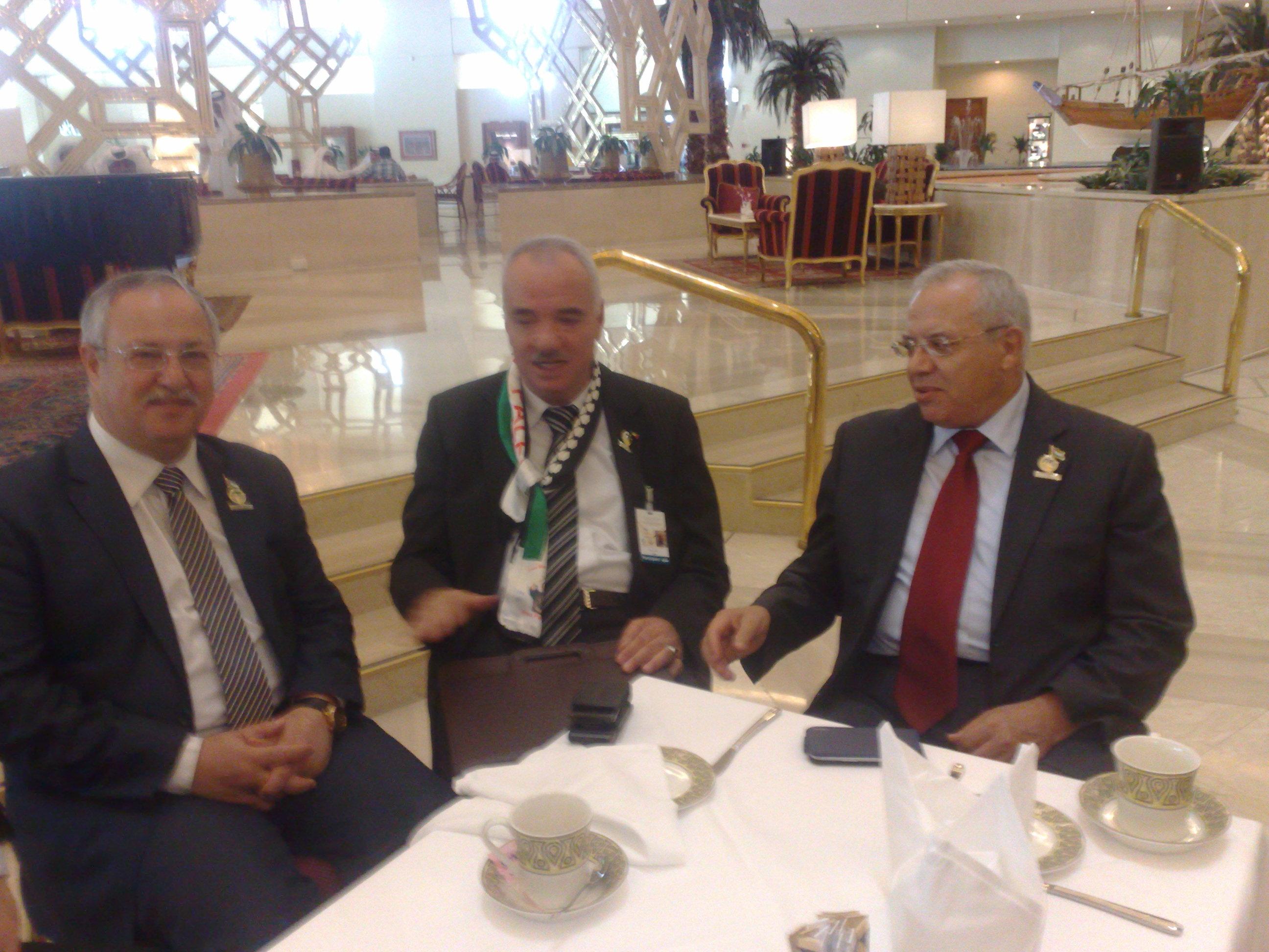 سفير دولة فلسطين في قطر