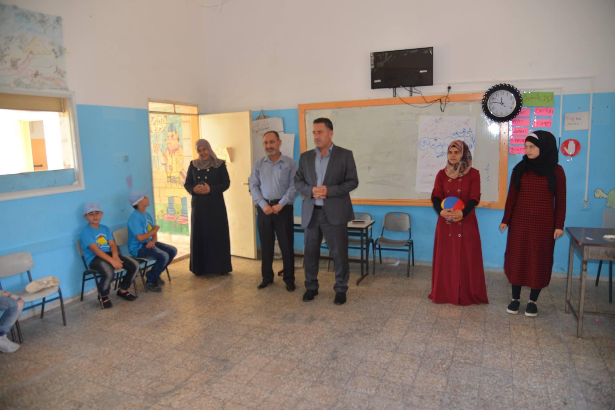 بلدية سلفيت تفتتح مخيم اسرى الحرية