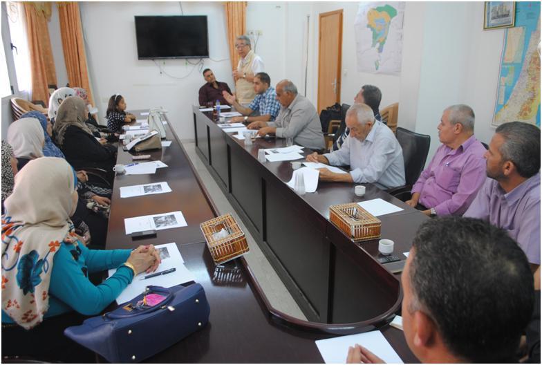 مجلس الخدمات المشترك يطلق مشروع انتاج السماد في محافظة سلفيت